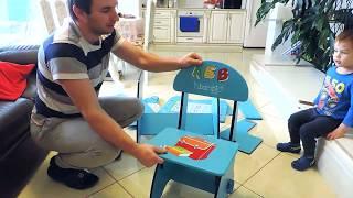 Детская Парта Bambino Little Обзор Children's Desk Bambino Little Review Мебель для детей