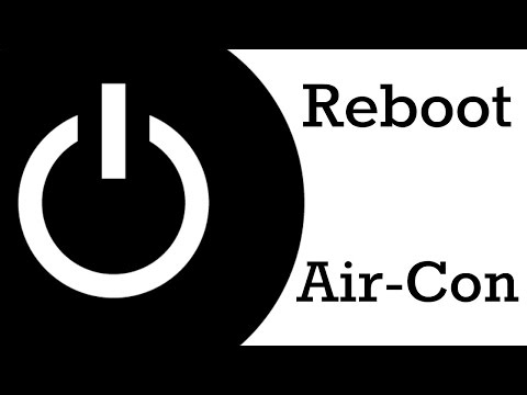 Reboot Air Conditioner - Reset Power to your A/C - YouTube