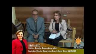 Sibel SAKIZCI - Bağlarbaşı Mahalle Muhtarlığına Ziyaret - Muhtar Ahmet KAHRAMAN