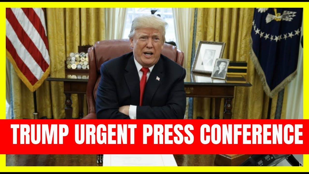GST BREAKING: President Trump SURPRISE Press Conference from the oval office at the White House