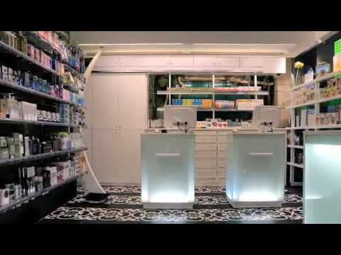 Dise o de farmacia dise o de locales comerciales for Diseno de interiores locales comerciales