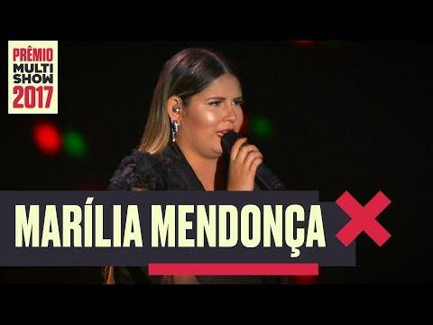 De Quem é a Culpa | Marília Mendonça | Prêmio Multishow 2017