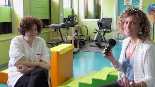 Con la Dr.ssa Carmela Bravaccio il reparto di Neuropsichiatria Infantile della A.O.U. Federico