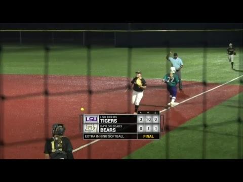 Extra Inning Softball Livestream Baylor Vs LSU