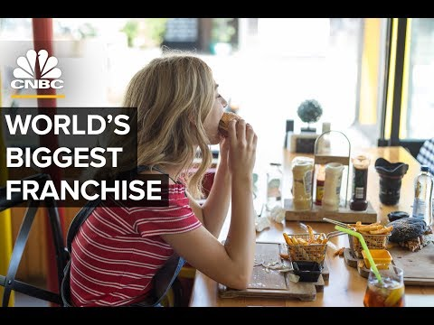 Subway - Not Starbucks Or McDonald's - Has The Most Locations