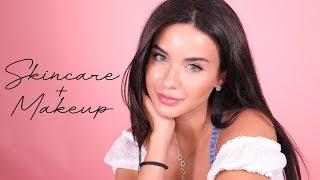 Skin Care Tips and Makeup Tutorial With Maya | نصائح للعناية بالبشرة من مايا مع مكياج ناعم وسريع