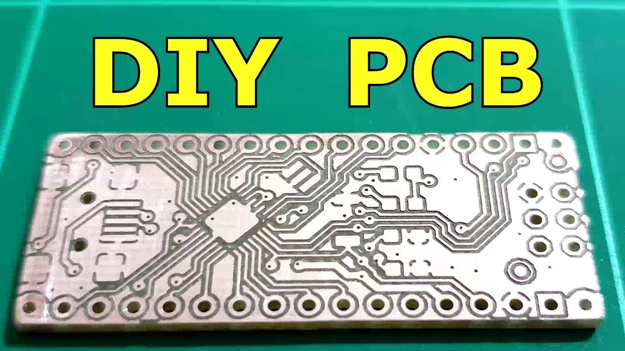 Advanced DIY PCB with a 3D Printer
