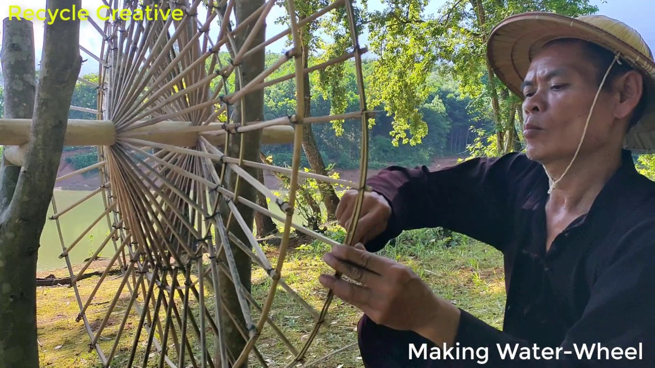 How To Make Water-Wheel | Recycle Creative