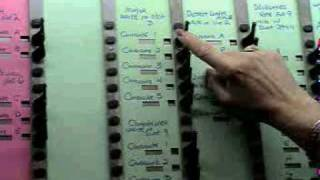 HOW TO VOTE IN NEW YORK -USING THE ARCHAIC VOTING MACHINE IN NEW YORK!