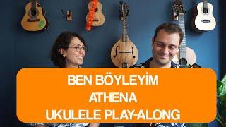 Ben Böyleyim - Tuğra Sueda Tilki & Erkin Soylu (Ukulele Akorları) Video