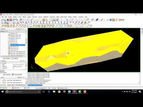 Tutorial Surpac : Perhitungan Sumberdaya Batubara (Metode Circular)