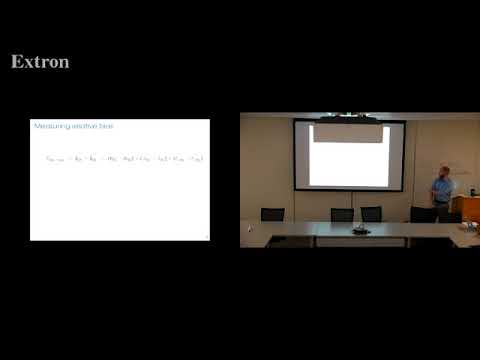 "9/19/2018 - Aaron Kaufman presents ""An Automated Method to Estimate Survey Question Bias"" on YouTube"