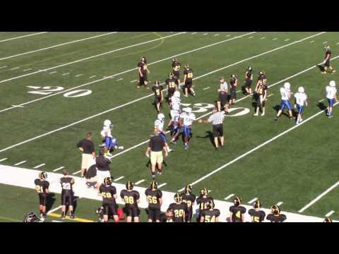 2015 Football - 7th grade Taylor Yellow Jackets vs Wyoming Cowboys