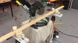 AutoSaw: Robot Assisted Carpentry