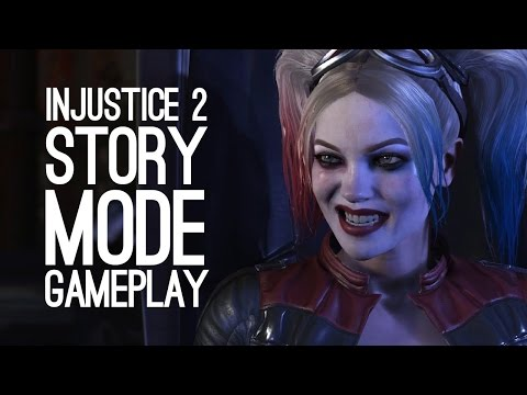 Injustice 2 Gameplay: KICKING SUPERMAN'S SUPERBUTT - Let's Play Injustice 2 Story Mode
