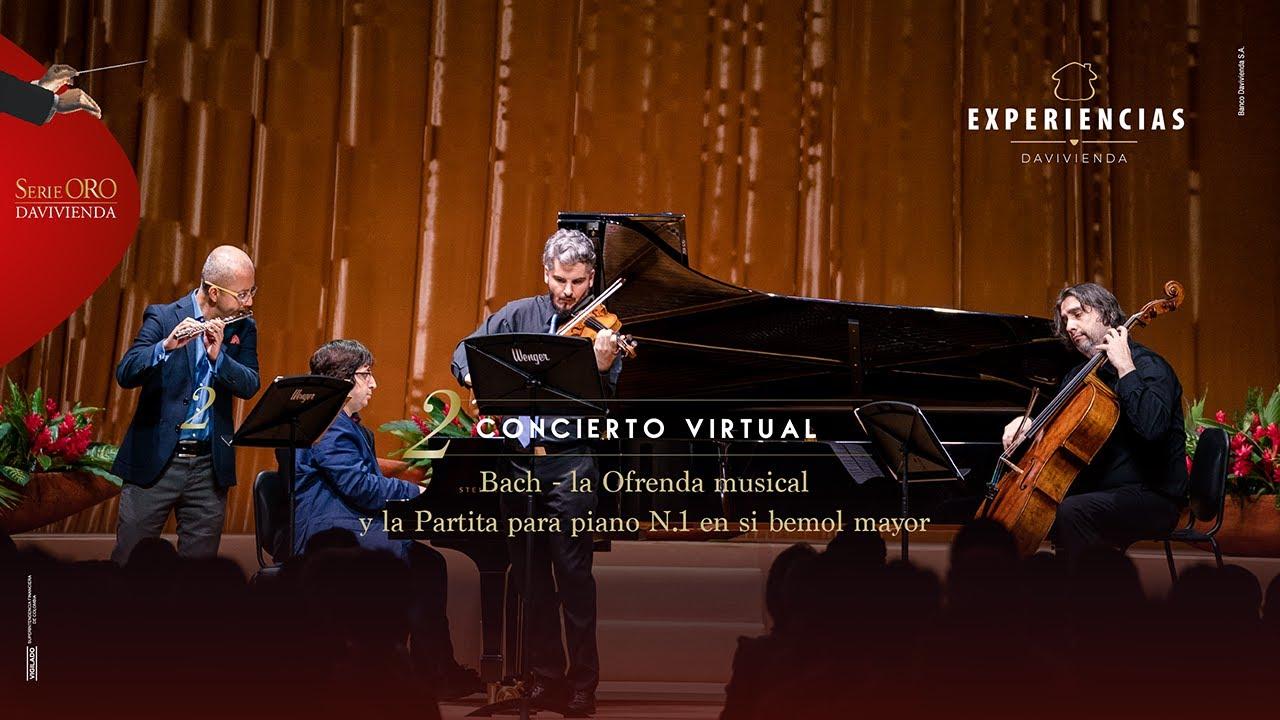 De Vivaldi A Schubert Bach La Ofrenda Musical Y La Partita Para Piano N 1 En Si Bemol Mayor Youtube