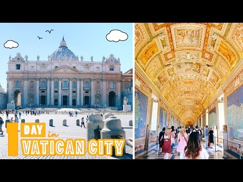 EUROPE TRAVEL VLOG #27: 3 Days in Rome pt 1/4 - A Day in Vatican City