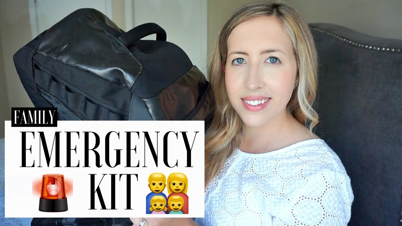 Emergency kit budget do it yourself family bag youtube emergency kit budget do it yourself family bag solutioingenieria Choice Image