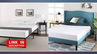 Zinus ABEL 14 Inch Metal Platform Bed Frame with Steel Slat Support, Mattress revieww