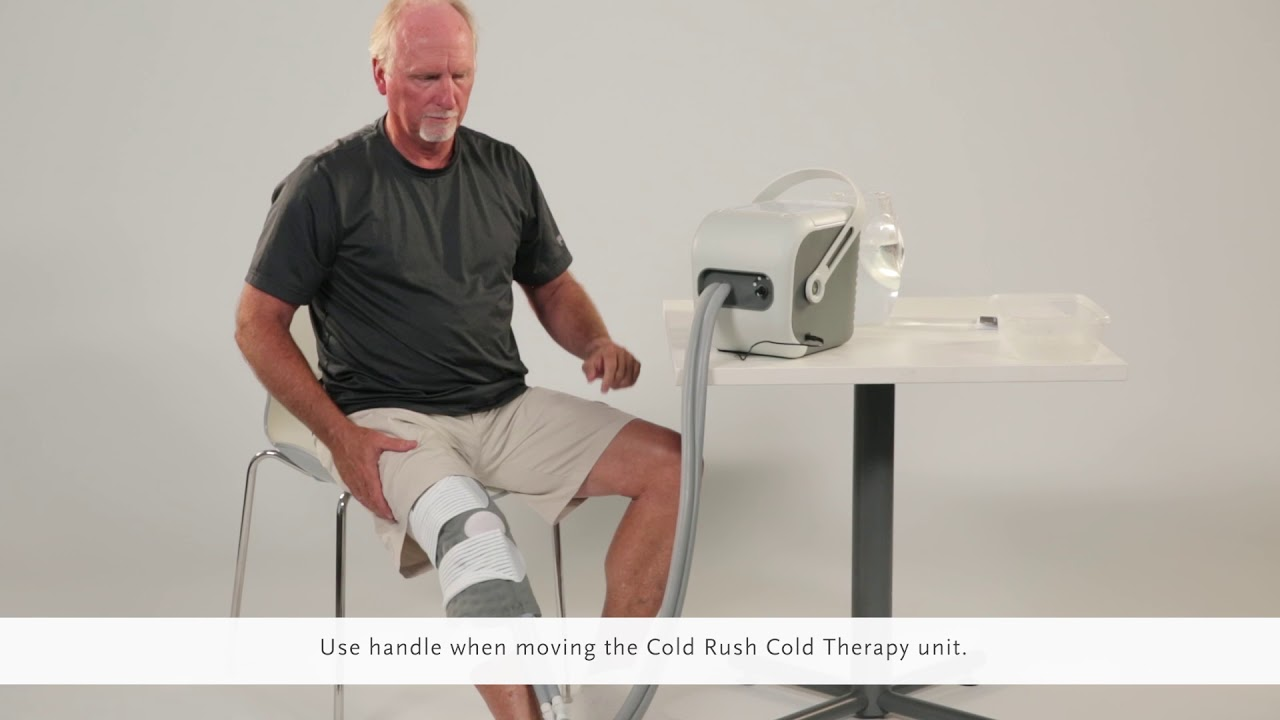 Cold Rush Cold Therapy System How To Use Your Device