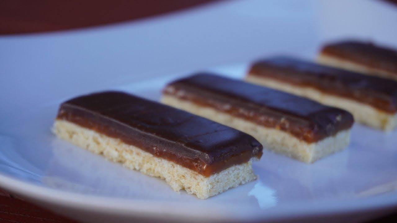 Twix elkészítése recepttel - Sütik Birodalma