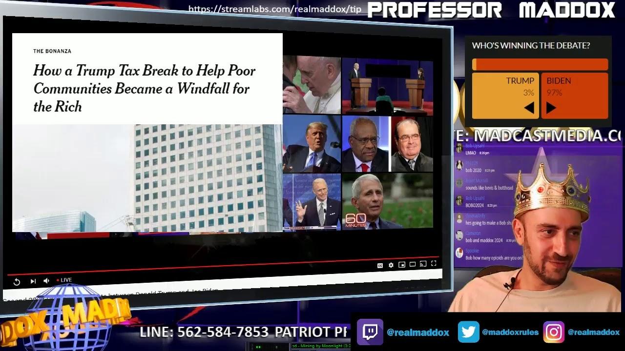 PRESIDENT DEBATE #2: TRUMP VS BIDEN ?LIVE | Maddox News