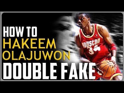 Hakeem Olajuwon Double Fake: Basketball Moves