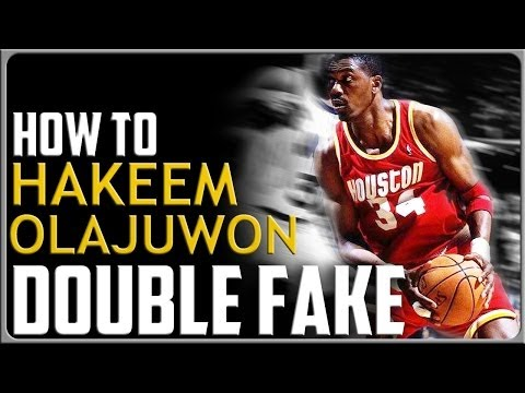 Hakeem Olajuwon Double Fake: Basketball Moves