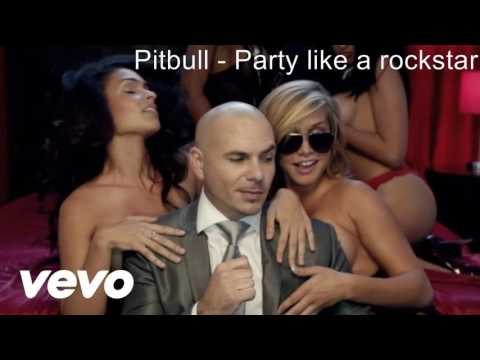 Pitbull - Party like a rockstar