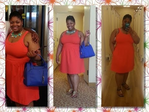 Plus size Shopping OOTD! Jewelry Organization - Vince Camuto + dress +  Walmart & Target Mini Haul