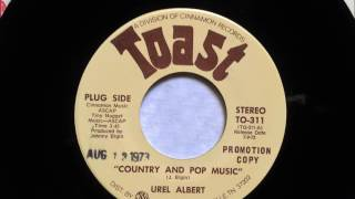 Country And Pop Music , Urel Albert , 1973
