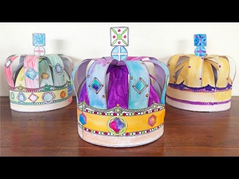 Paper Crown - How to Make a Paper Crown