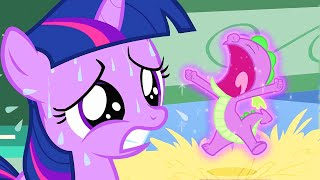 My Little Pony | Baby Twilight Sparkle and Baby Spike