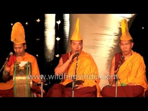 Finest Buddhist Throat Singer - Lama Tashi From India