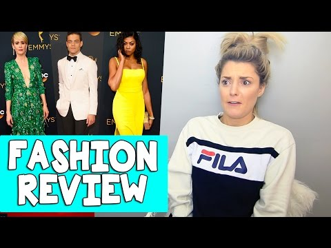 EMMY FASHION REVIEW 2016 // Grace Helbig