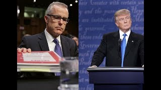What is the Feud between President Trump and Andrew McCabe About?