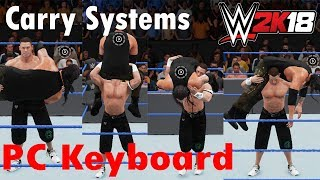Carry systems WWE 2K18