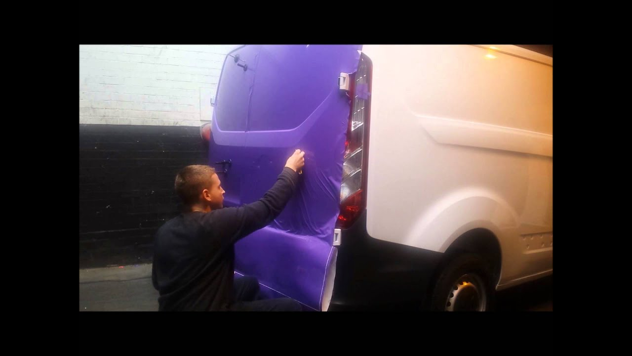ZB Automotive Car Styling - Ford Transit Custom Rear Doors Wrapping - YouTube & ZB Automotive Car Styling - Ford Transit Custom Rear Doors Wrapping ...