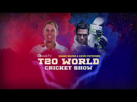 T20 World Cricket Show with Shane Warne & Kevin Pietersen
