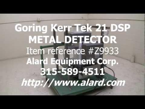 Drop-thru METAL DETECTOR with reject Z9933
