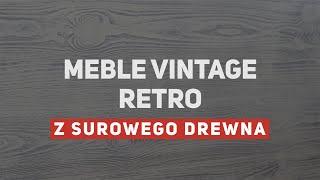 Vintage, retro - malowane, przecierane meble własnej roboty
