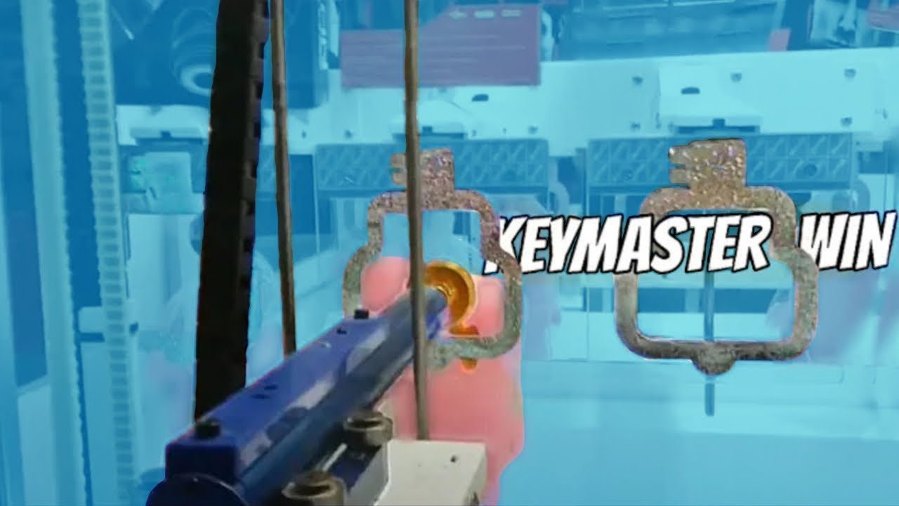 I Won From the Keymaster Arcade Game