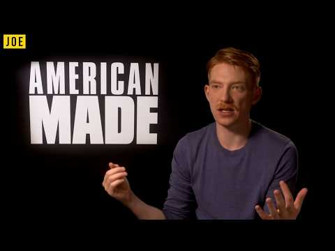 Domhnall Gleeson chats American Made, The Last Jedi & reveals the films that made him cry