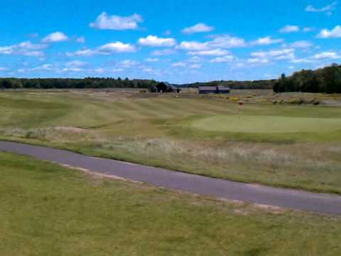 Big fish golf club hayward wi youtube for Big fish golf
