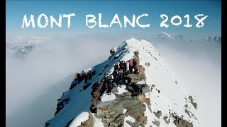 CLIMBING MONT BLANC with DRONE 2018