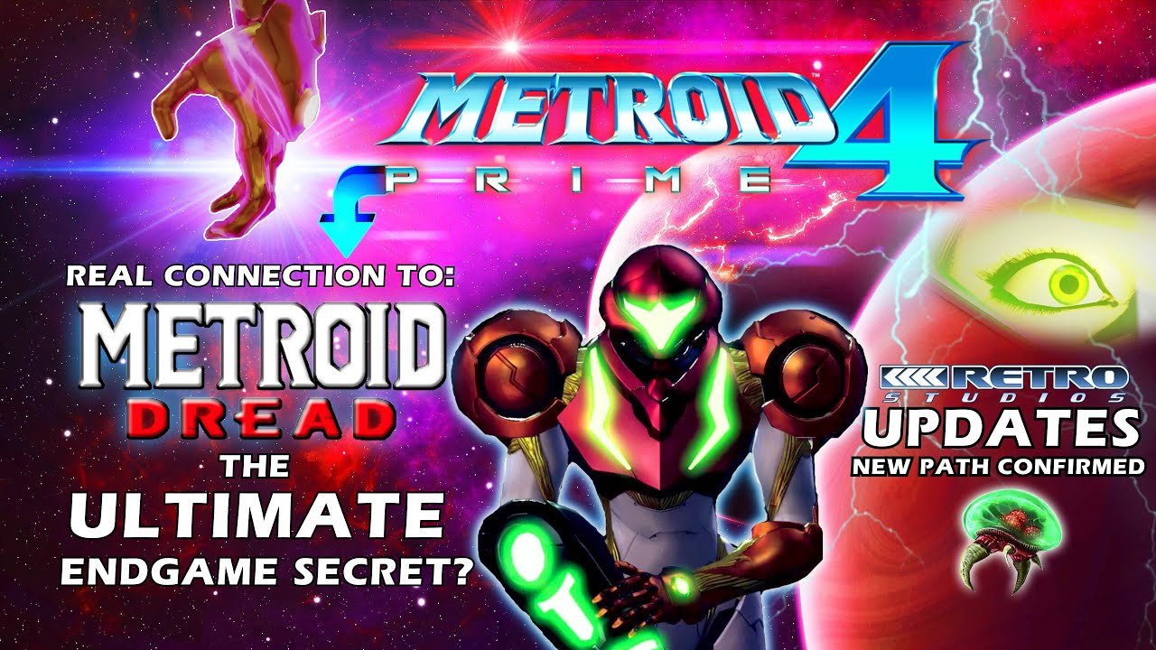 Metroid Prime 4 + Metroid Dread Updates: The Big Secret & Real Connection + Retro Studios 3 Projects