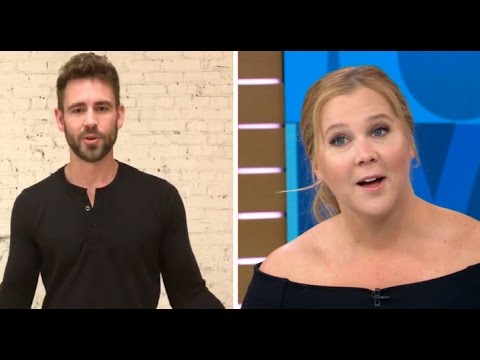 Amy Schumer Surprised by Bachelor Nick Viall, Talks Netflix Special | GMA
