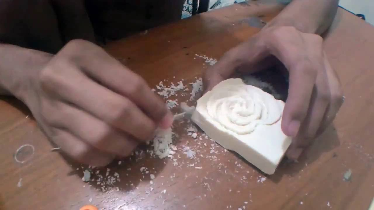 Soap Carving | Timelapse | How to - YouTube