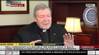 Andrew Bolt with Cardinal Pell