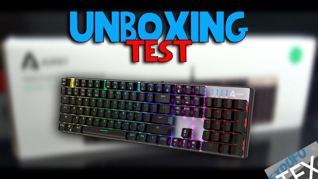 le meilleur clavier gamer unboxing youtube. Black Bedroom Furniture Sets. Home Design Ideas